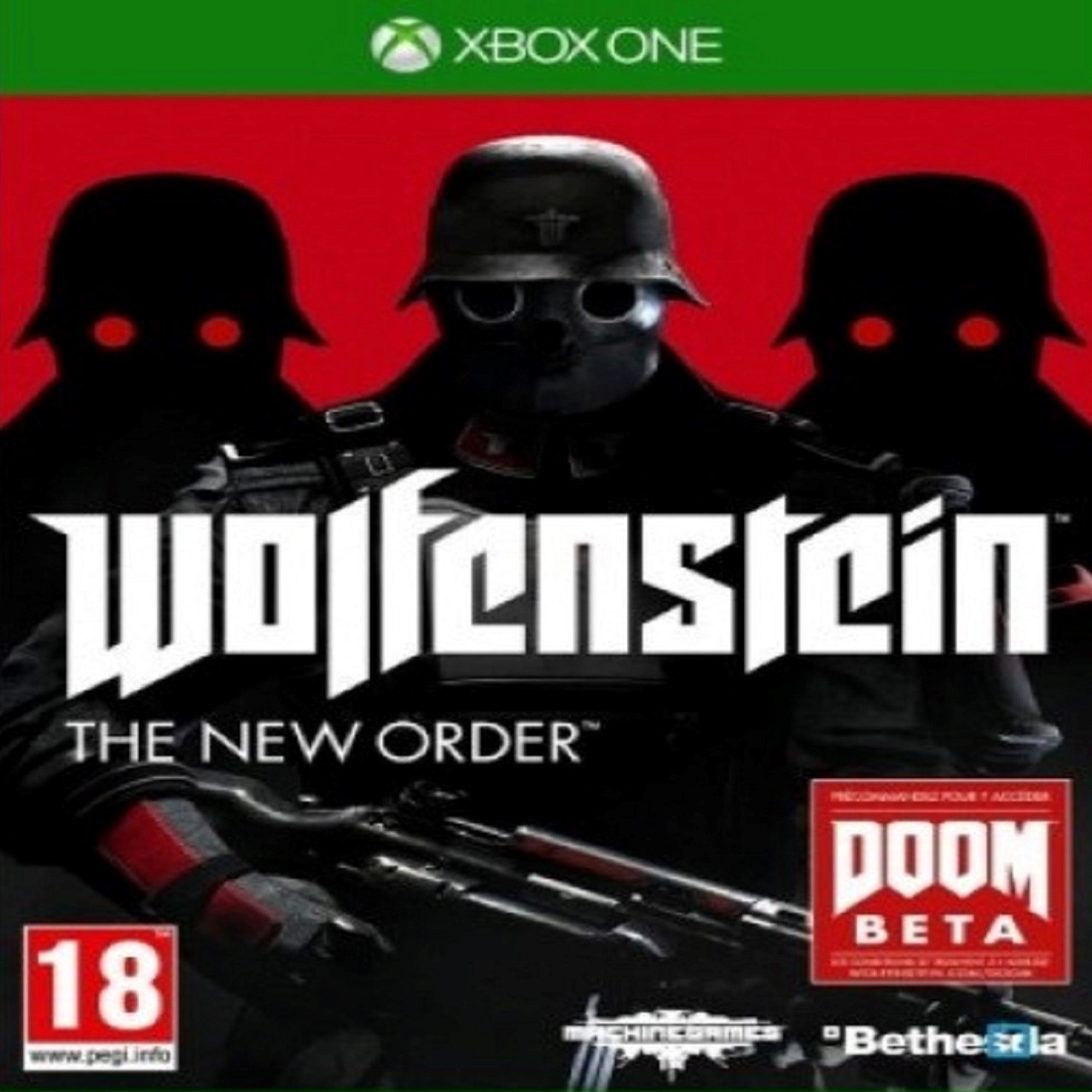 Wolfenstein:The New Order RUS XBOX ONE (Б/В)