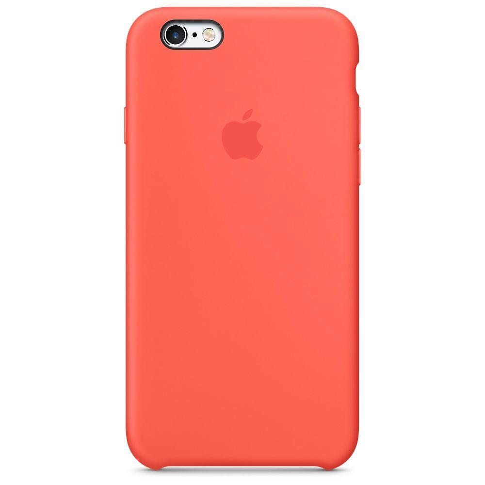 Чехол Silicone Case Apple iPhone 6s (Orange)