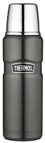 Термос Thermos Stainless King Flask, Gun Metal, 470 ml. (170014)
