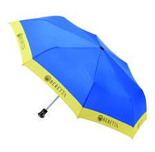 Зонт складной   Beretta  голубой
