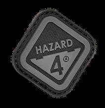 Нашивка на липучке Hazard 4 Diamond Shape  Hazard 4 , черная/серая