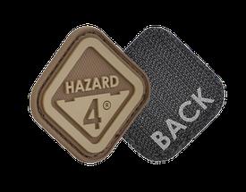 Нашивка на липучке Hazard 4 Diamond Shape  Hazard 4 , койот