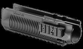 Цевье тактическое FAB для Rem 870, полимерное, черное