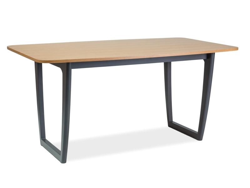 Стол обеденный деревянный Quadro Signal дуб/графит