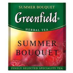 Чай фруктовый с малиной и шиповником Greenfield Summer Bouquet 100 пак. м/у HoReCa