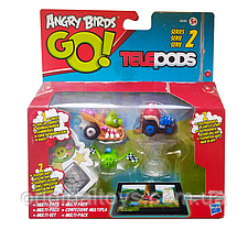 Игровой набор c фигурками Angry Birds Go Telepods Hasbro