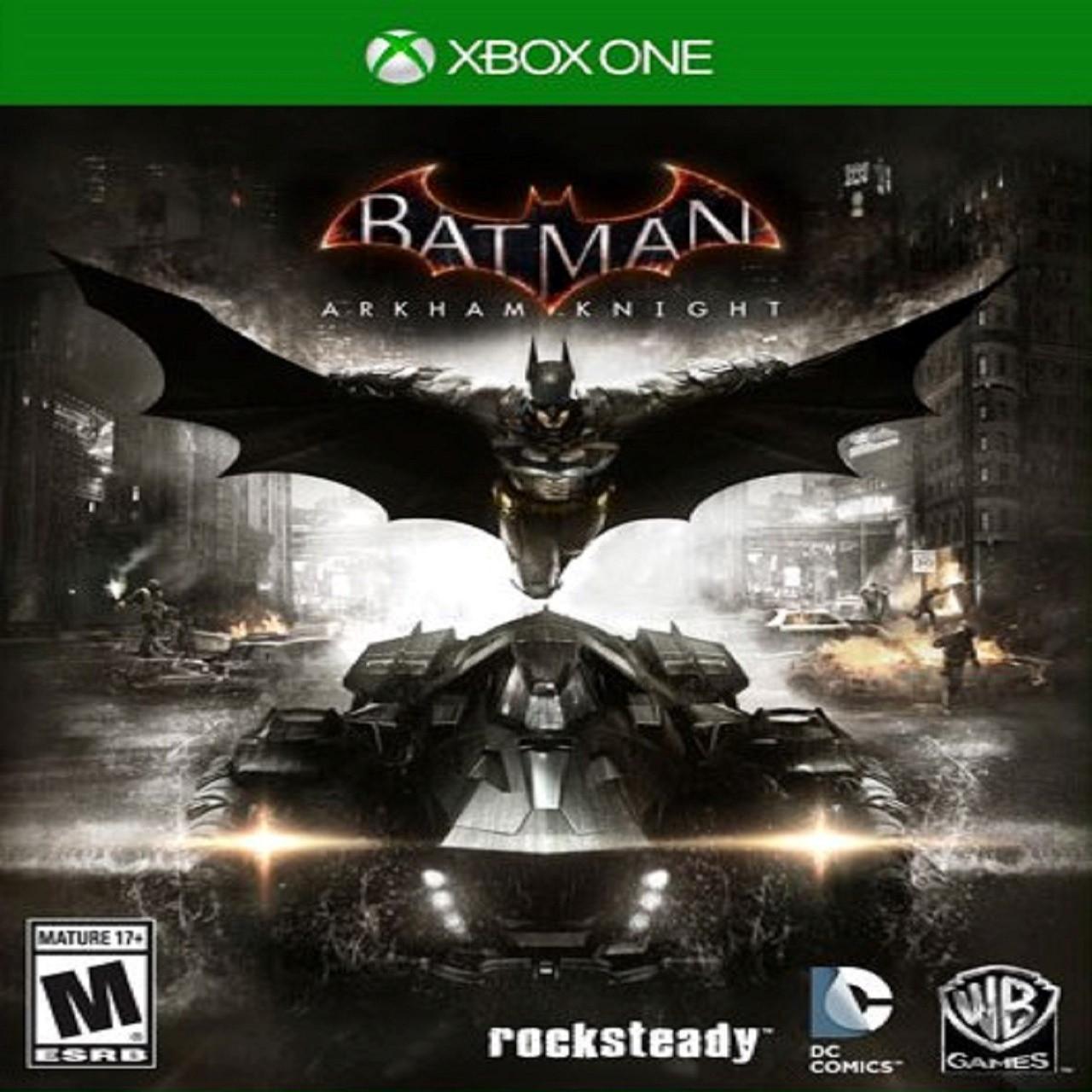 Batman:Arkham Knight SUB XBOX ONE (Б/В)