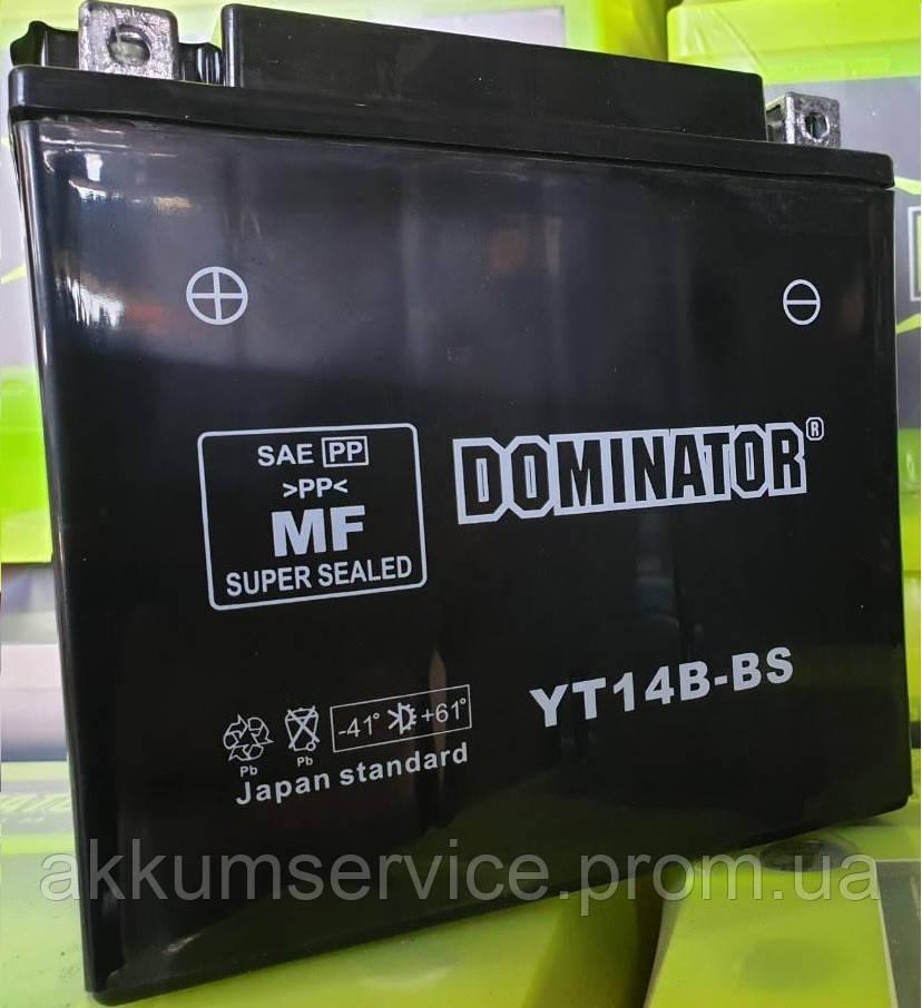 Аккумулятор мото Dominator  YT14B-BS (12V-14AH)