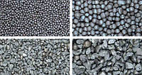 Дробь стальная литая (ДЧЛ) по ГОСТ 11964-81фракция 1,8