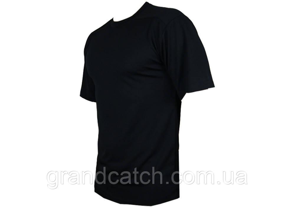 Футболка Cool-max прямая (черная)