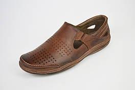 Мокасины повседневные кожаные Fabio 921
