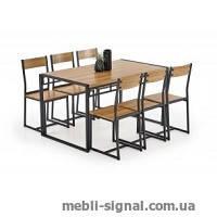 Комплект Bolivar стол+6 стульев (Halmar)