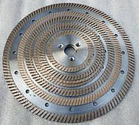 "Алмазные диски на фланце, ""кривой-рез"" по граниту"