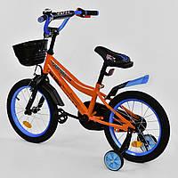 """Велосипед 16"""" дюймов 2-х колёсный R - 16370 """"CORSO"""""""