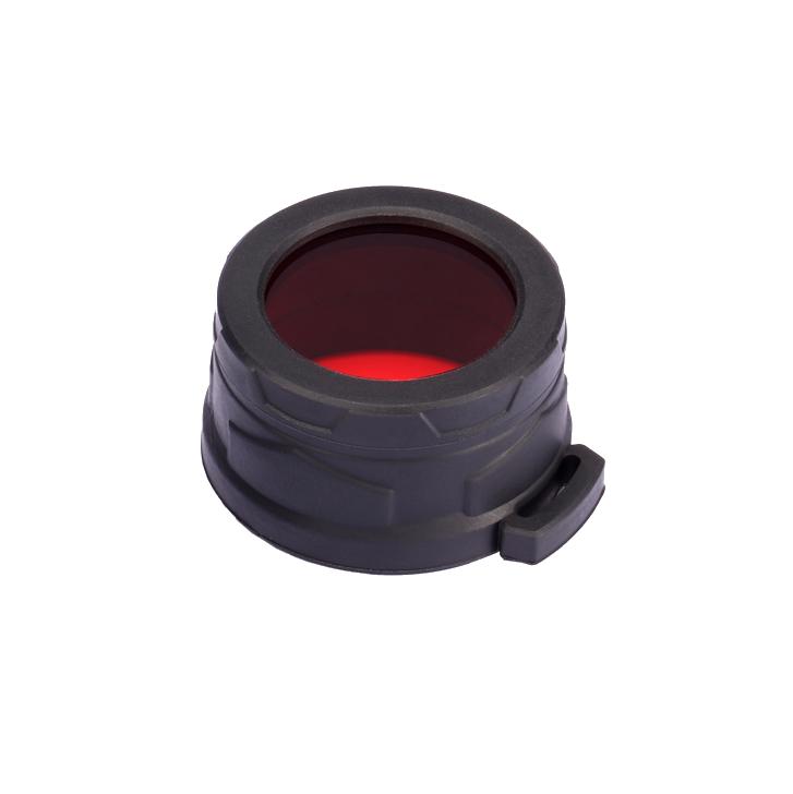 Диффузор фильтр для фонарей Nitecore NFR40 (40mm), красный
