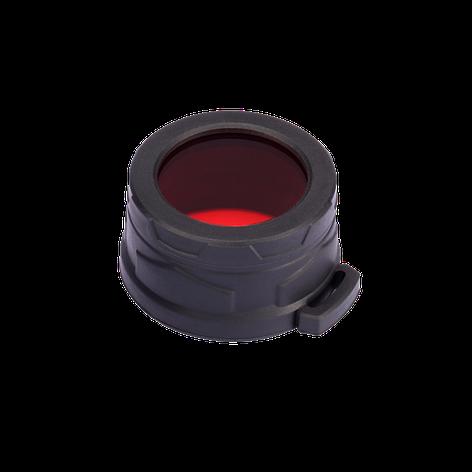 Диффузор фильтр для фонарей Nitecore NFR40 (40mm), красный, фото 2