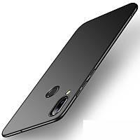 Черный силиконовый чехол Samsung Galaxy M20 (2019)