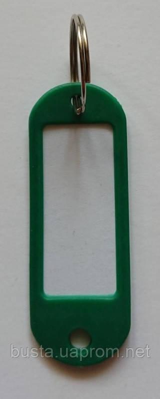Брелок-идентификатор для ключей зеленый