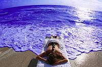 Натуральный комплекс масел для массажа Afrodita - морской бриз, 100 мл
