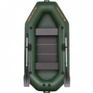 Надувная лодка Kolibri К-260Т Стандарт с пайолом слань-книжка
