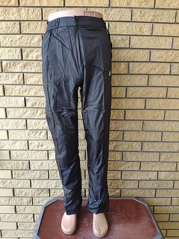 Спортивные штаны мужские плащевка реплика ADIDAS, фото 2