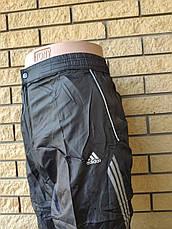 Спортивные штаны мужские плащевка реплика ADIDAS, фото 3