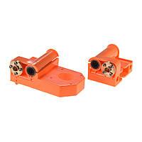 3D-принтер X-Axis End Оранжевый пластиковый инжектор с M8 винтами для A8 / P802 Prusa i3 запчасти - 1TopShop