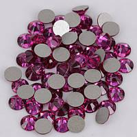 Стразы холодной фиксации Fuchsia SS16. Цена за 144 шт, фото 1