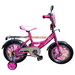 Детский велосипед Mustang Принцесса 14 дюймов розовый