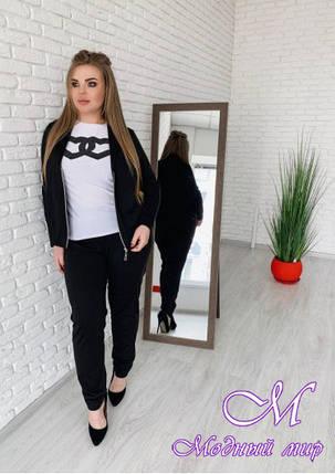 e30f272aad7 Женский брючный костюм батал — купить в интернет магазине одежды ...
