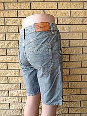 Бриджи мужские джинсовые коттоновые ZARA, Турция, фото 3