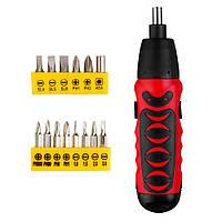 Probale Dry Батарея Electric Отвертка Cordless Mini Дрель Ремонт бытовой техники Инструмент Набор - 1TopShop