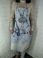 Комбинезон женский UNO 1230 голубой S-XL
