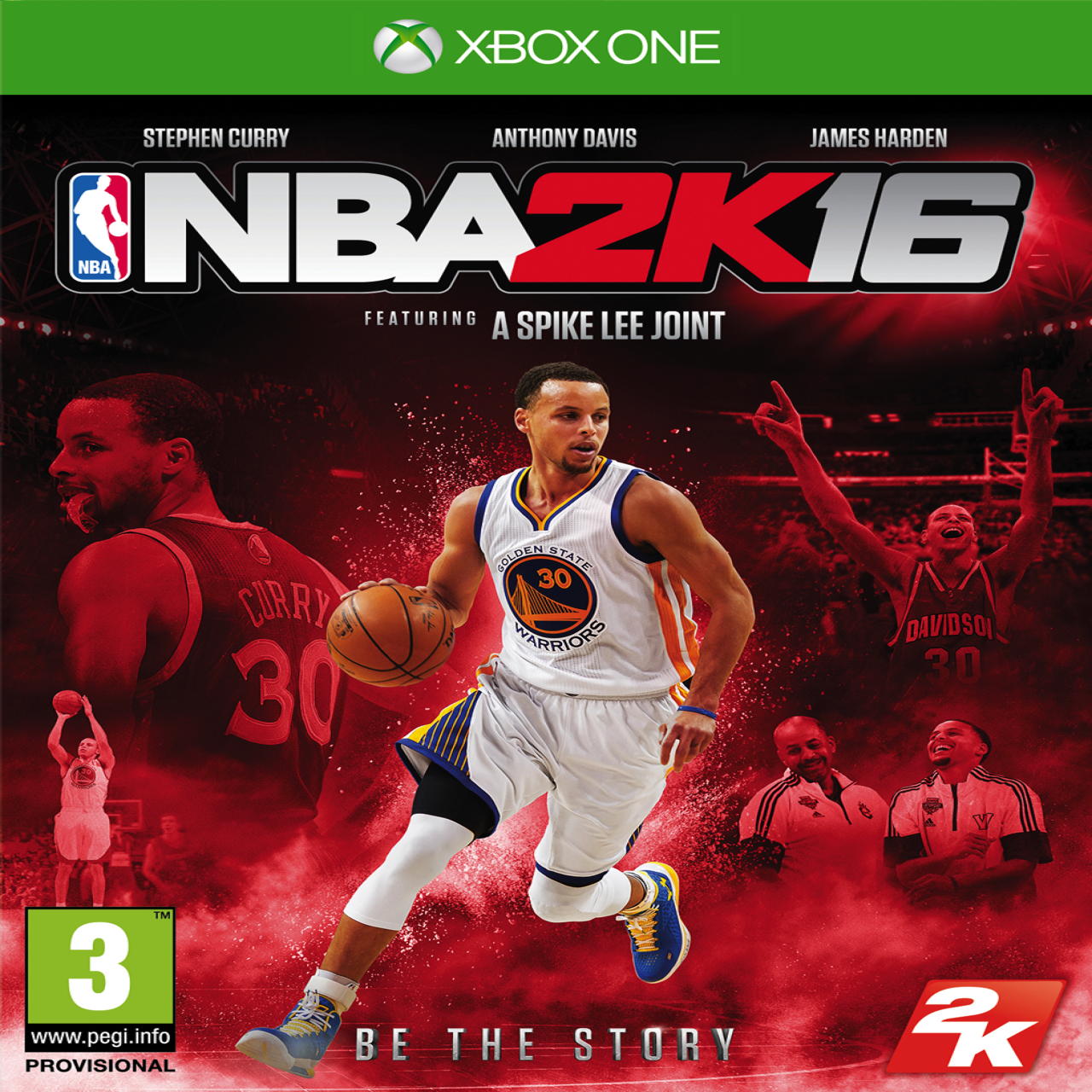 NBA 2k16 ENG XBOX ONE (Б/В)