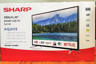 Телевизор Sharp LC-40FI5342E (AM200Гц, FullHD, Smart Aquos Net+, HarmanKardon 20Вт, DVB-C/T2/S2)