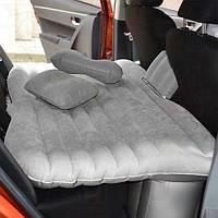 Матрас в автомобиль на заднее сиденье серый