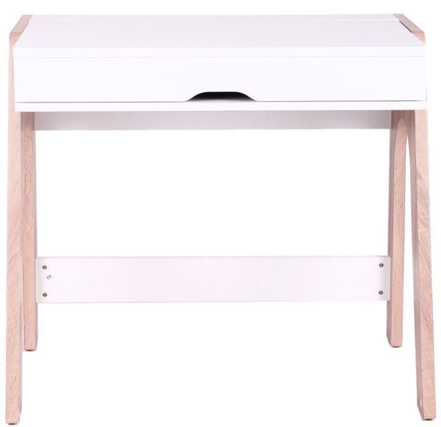 Компьютерный стол Esenin белый+орех светлый, белый (фото 5)