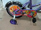 Детский велосипед Mustang Winx 14 дюймов фиолетовый, фото 5