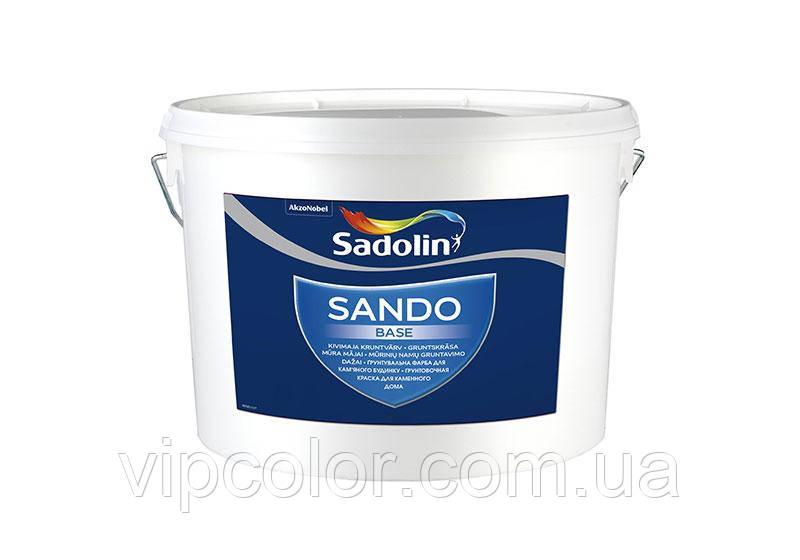 Sadolin SANDO BASE 5 л фарба для фасаду, Безбарвний