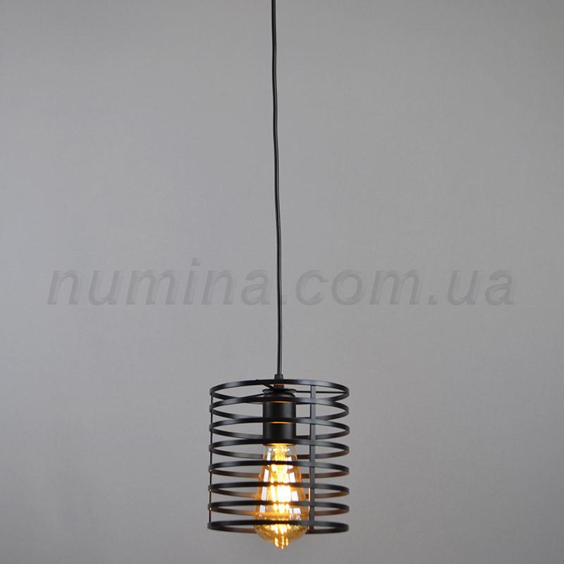 Люстра  подвесная на одну лампу YS-TY001-M BK
