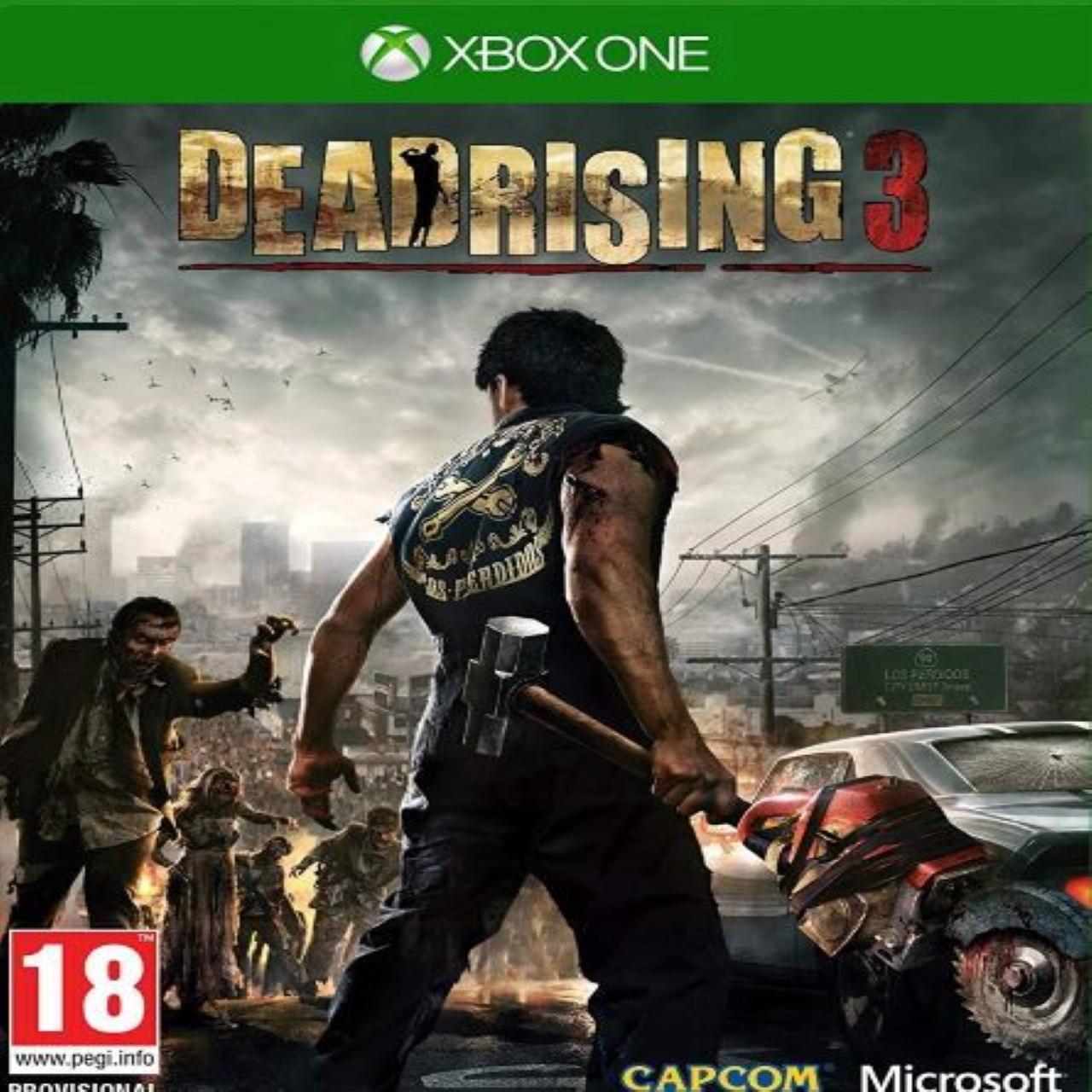 Dead Rising 3 RUS XBOX ONE (Б/В)