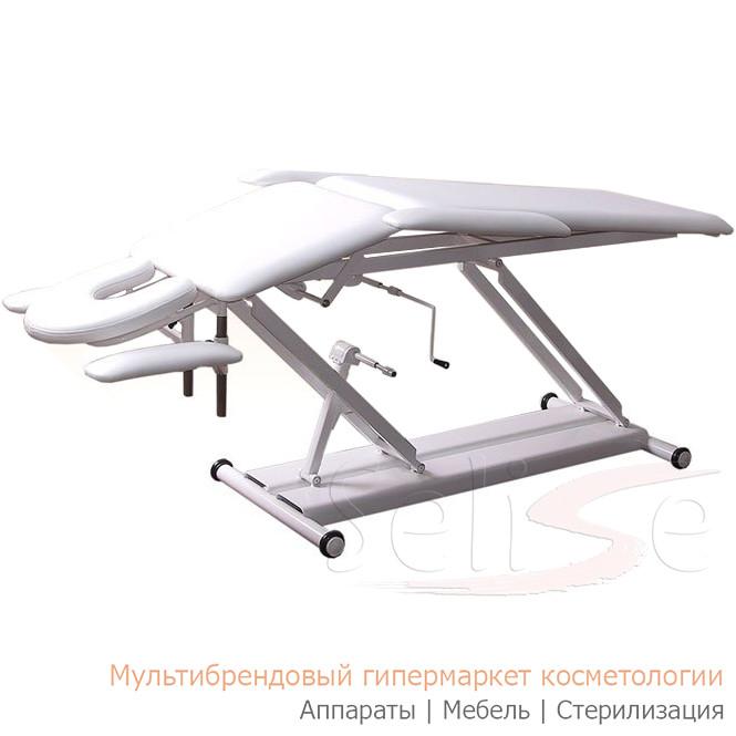 Кушетка М-2 массажная с 2-мя регулировками высоты(механика)