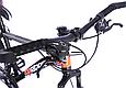 """Гірський велосипед TopRider 611 24"""" Чорно-помаранчевий, фото 8"""