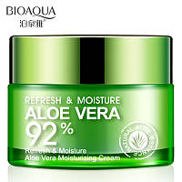 Увлажняющий крем для лица Bioaqua Refresh & Moisture Aloe Vera 92 % Moisturizing Cream (50г)