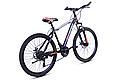 """Гірський велосипед TopRider 611 26"""" з дисковими гальмами, Чорно-помаранчевий, фото 3"""