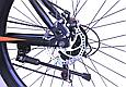 """Горный велосипед TopRider 611 26"""" Черный/Оранжевый, фото 7"""
