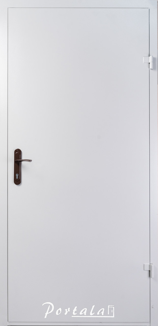 Двери технические, ЕИ30, РАЛ 7035, РАЛ 8017 в наличии, 1 притвор