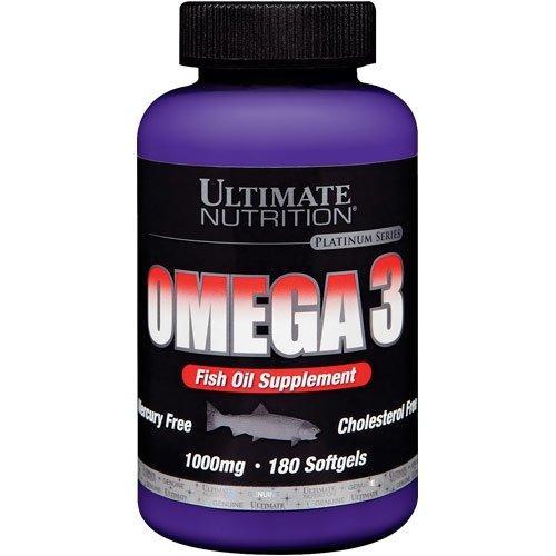 Рыбный жир Ultimate Nutrition Omega 3 180 caps