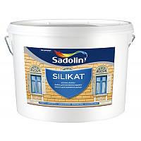 Sadolin SILIKAT 5 л силикатная краска для наружных и внутренних работ Белая
