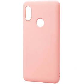Чехол Candy Silicone для Xiaomi Redmi Note 5 Розовый